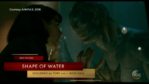 [NATL] 'The Shape of Water' Wins Big at the Oscars
