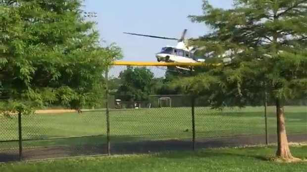 Medevac Lands After Shooting at GOP Baseball Practice