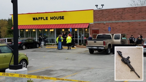 Deadly Shooting at Tennesee Waffle House