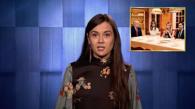 [NATL] 'Tonight': Patti Harrison Reveals Trump Family Thanksgiving Secrets