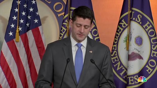 [NATL] Paul Ryan Cites Family as Reason for Retirement