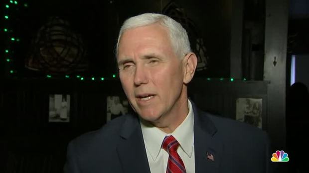[NATL] Pence: 'No Comparison' to Clinton on Private Email Use