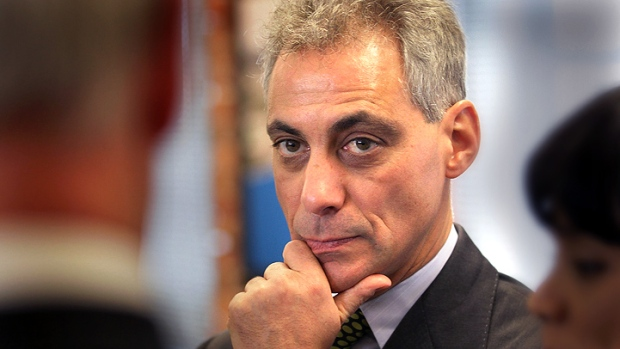 A 'Softer Side' of Rahm on 'Rock Center'