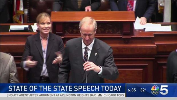 [CHI] Rauner to Deliver State of the State Speech