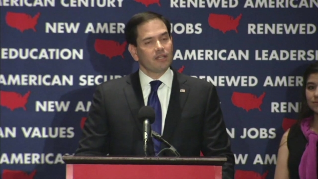 Rubio Drops Out, Denounces 'Politics of Resentment'