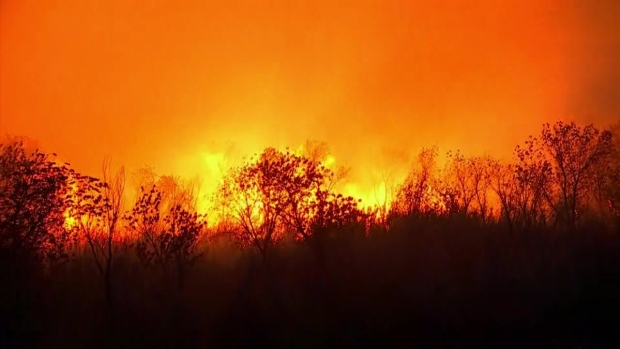 [NATL-LA] Rye Fire Spreads in Santa Clarita