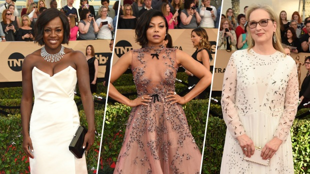 2017 SAG Awards Red Carpet Looks
