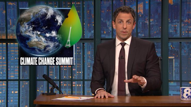 'Late Night' Closer Look at Climate Summit