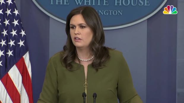 [NATL] Sanders: Sam Nunberg's Comments on MSNBC Are 'Incorrect'