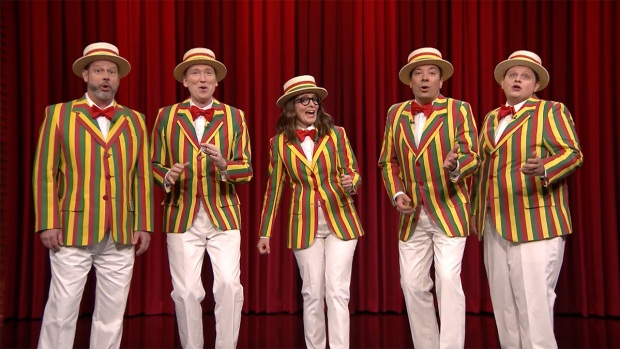 [NATL] 'Tonight': The Ragtime Gals, Tina Fey Sing 'That's What I Like'