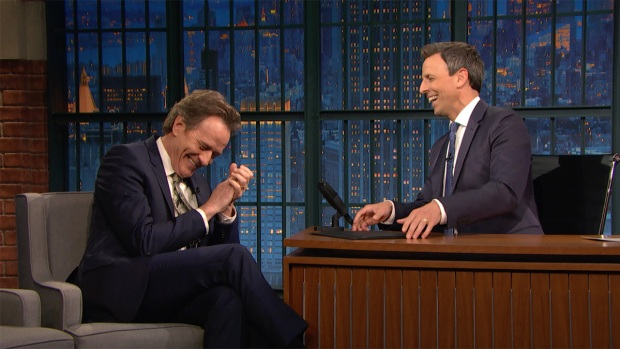 [NATL] 'Late Night': Bryan Cranston Acts on Toilets a Lot
