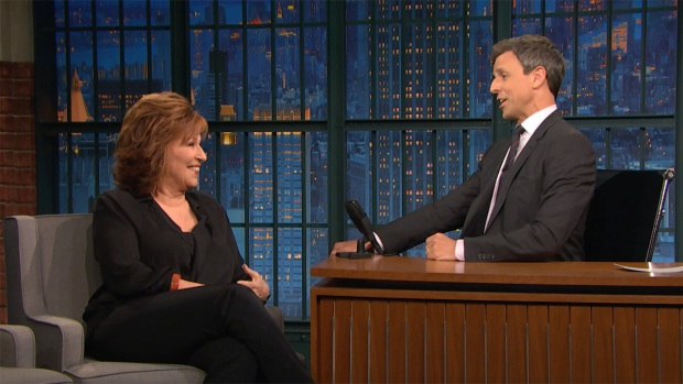 [NATL] 'Late Night': Joy Behar Dishes on the Trump-Maples Wedding