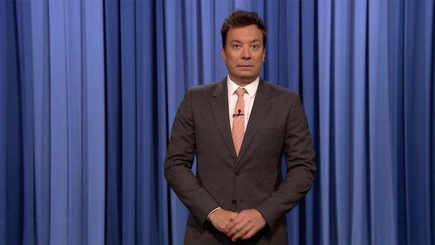 [NATL] 'Tonight': Fallon, Transgender Comedian Talk Trump Military Ban