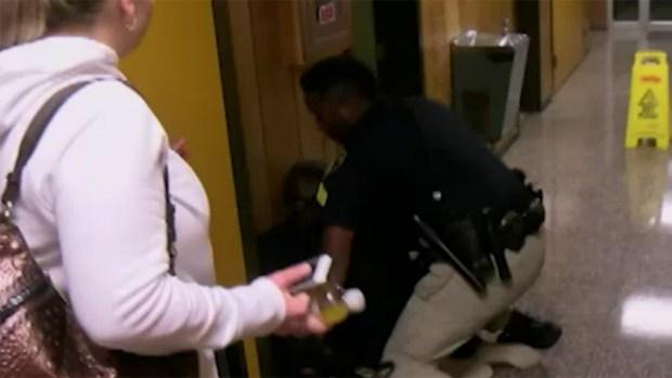 [NATL] School Board President Defends Teacher's Arrest