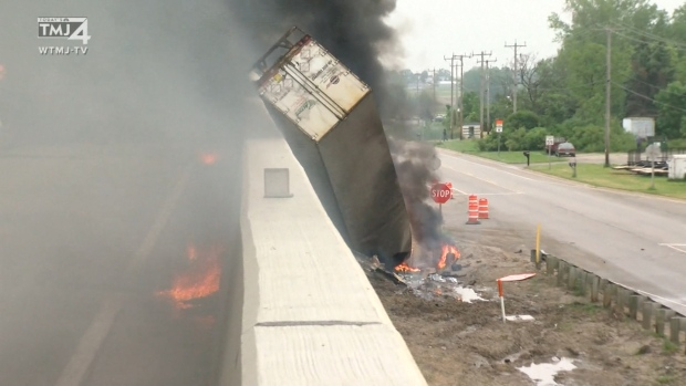 At Least 2 Dead After Semi-Truck Explodes, Shuts Down