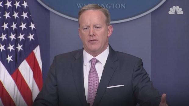 [NATL] Spicer Talks New Immigration Policies for Trump Era