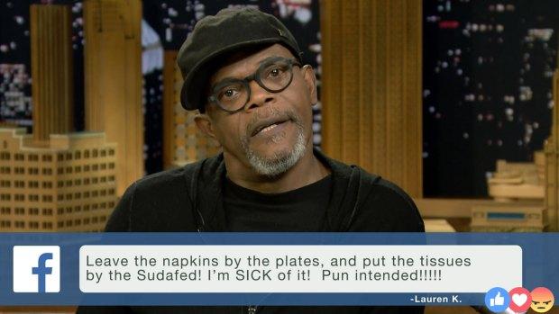 [NATL] 'Tonight Show': Facebook Rants With Samuel L. Jackson