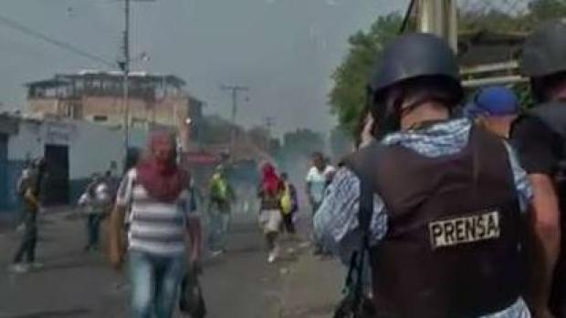 [NATL-MI] Tensions Flare Along Venezuelan Border