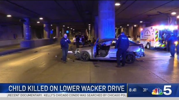 Toddler Killed on Lower Wacker Drive