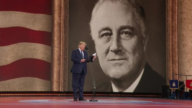 [NATL] Trump Reads From FDR's Prayer for D-Day Anniversary