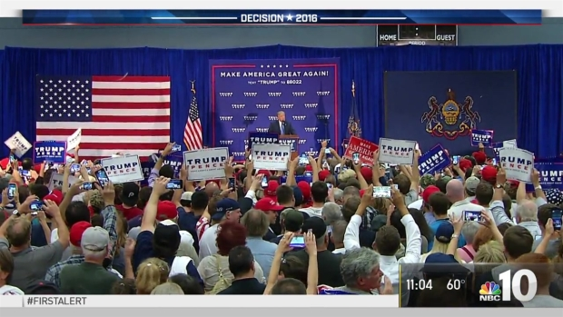 [NATL-PHI] Trump Rallies Voters in Bucks County