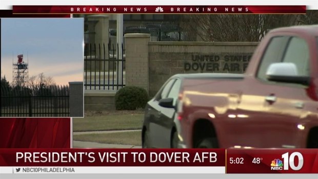 President Visits Dover Air Force Base to Honor Fallen Navy SEAL