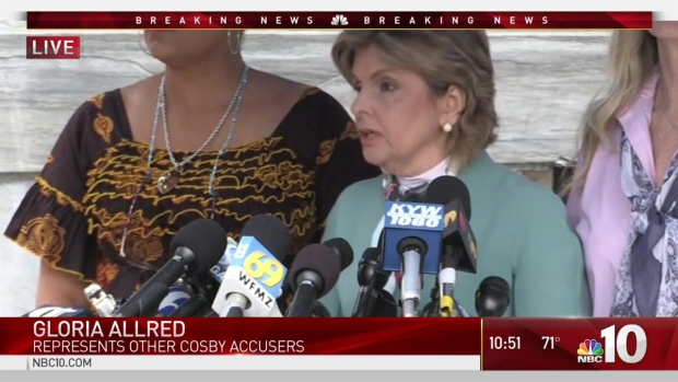 [NATL-PHI] Lawyer Gloria Allred: 'It's Too Early to Celebrate, Mr. Cosby'