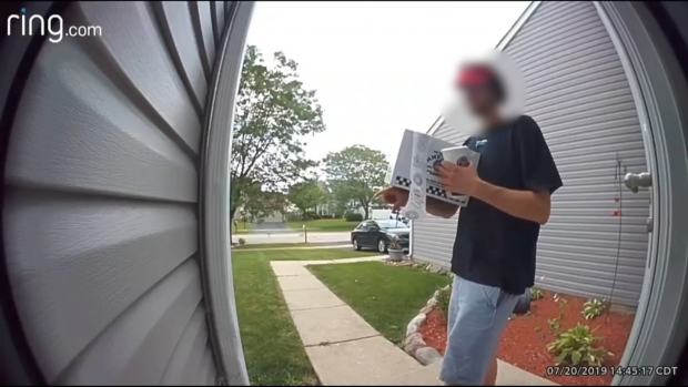 [CHI] Video Shows Jimmy John's Delivery Driver Putting Mouth on Drink