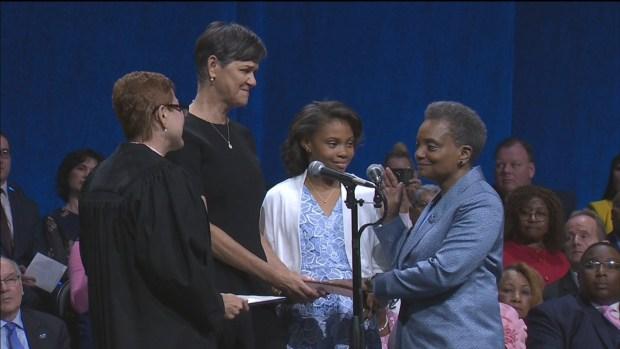 Lori Lightfoot is Sworn In as Chicago Mayor