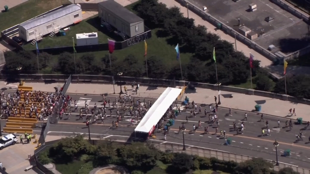 Watch Crowds Enter Lolla as Gates Open in Chicago