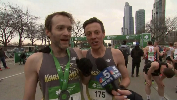 [CHI] Shamrock Shuffle Winner Shares Finish Line Moment with Competitor