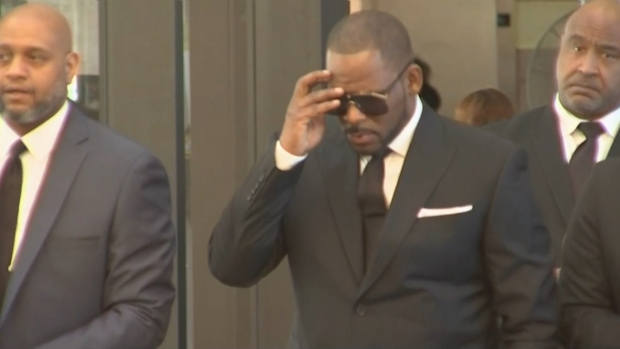 [CHI] R. Kelly Arrives in Court for Friday Hearing