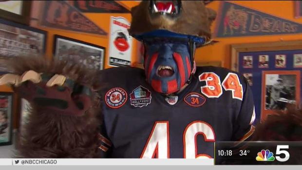 Is Plainfield's Bearman the Chicago Bears Biggest Fan?