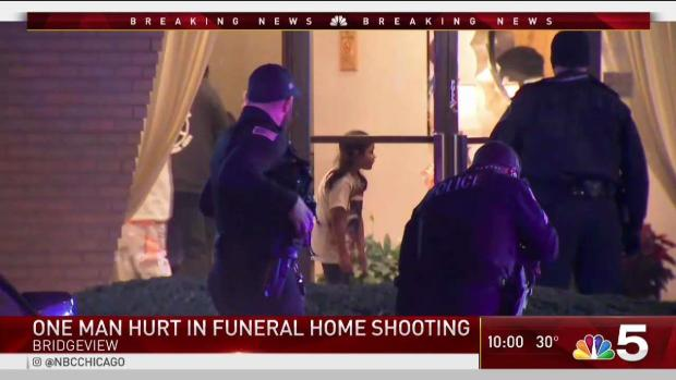 [CHI] Cops Swarm South Suburban Funeral Home After Man Shot