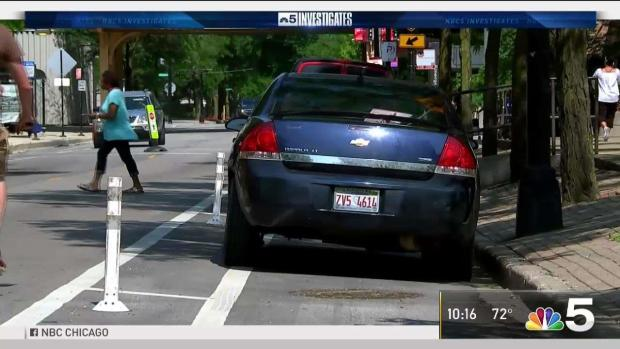 Obstructed Chicago Bike Lanes Become Increasing Problem for Cyclists