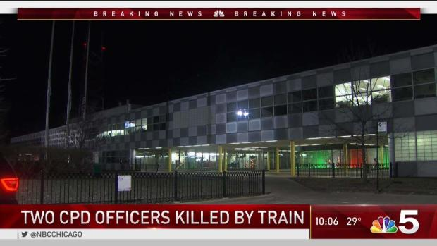 Video From Train Shows Moments Before 2 Chicago Cops Fatally Struck