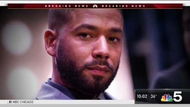 Jussie Smollett Charged With Filing a False Police Report