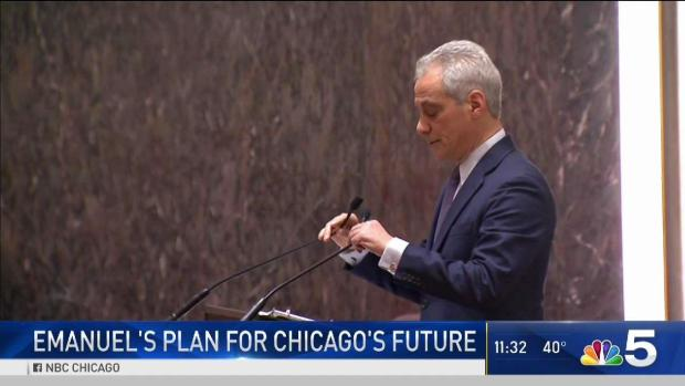 [CHI] Emanuel Backs Legal Weed, Chicago Casino to Fund Pensions