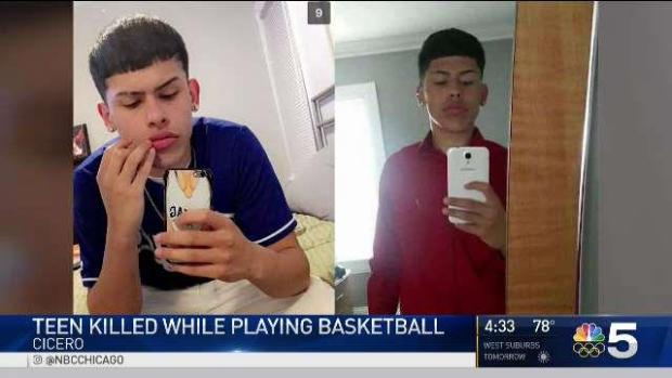 [CHI] Cicero Teen Killed While Playing Basketball