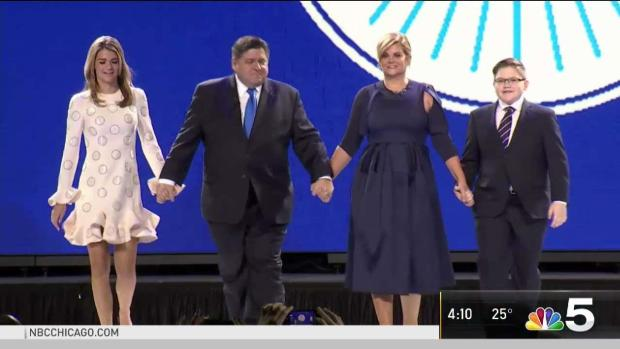 Pritzker Sworn in as 43rd Governor of Illinois