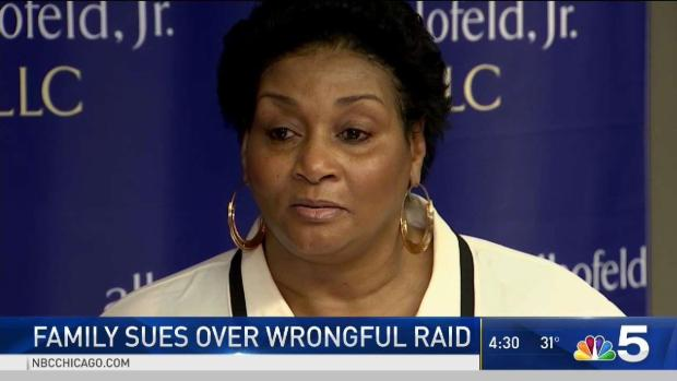[CHI] Woman Files Lawsuit After She Says Police Raided Wrong House