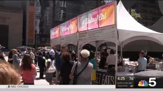 [CHI] Taste of Chicago Preview Takes Over Daley Plaza