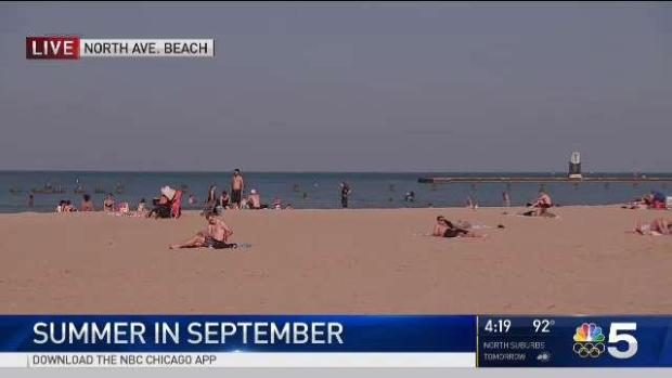 [CHI] Sept. 20 Hasn't Been This Hot in Chicago Since 1931
