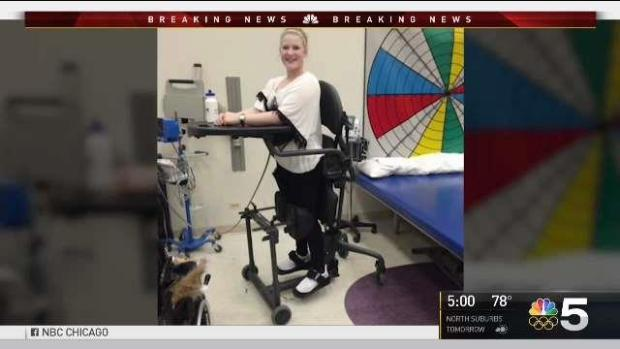 Woman Paralyzed At O'Hare Speaks After Lawsuit