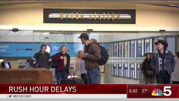 [CHI] Commuters Urged to Make Alternate Plans Amid Signal Issues
