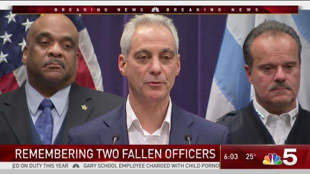 [CHI] Chicago Mourns 2 Officers Fatally Struck by Train
