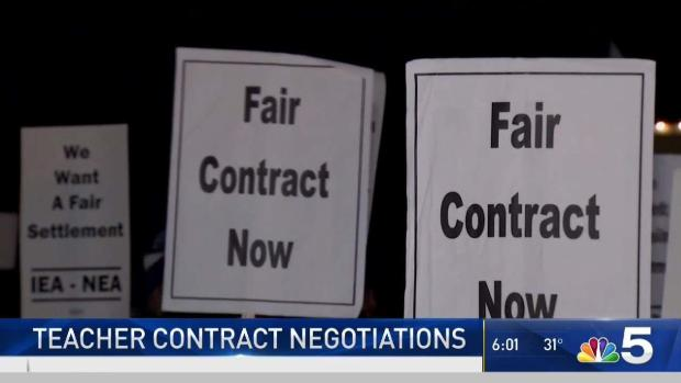 Geneva Teachers Negotiate Contracts