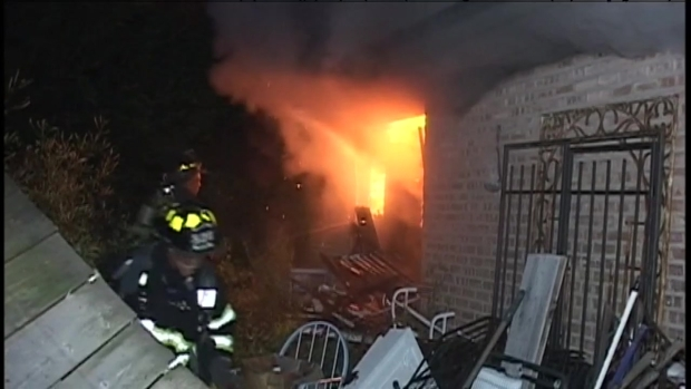 [CHI] Suburban House Fire Accelerated Due to Hoarding