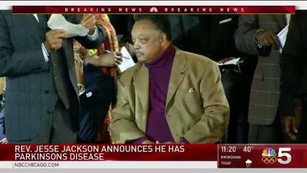 [CHI] Rev. Jesse Jackson Reveals Parkinson's Diagnosis