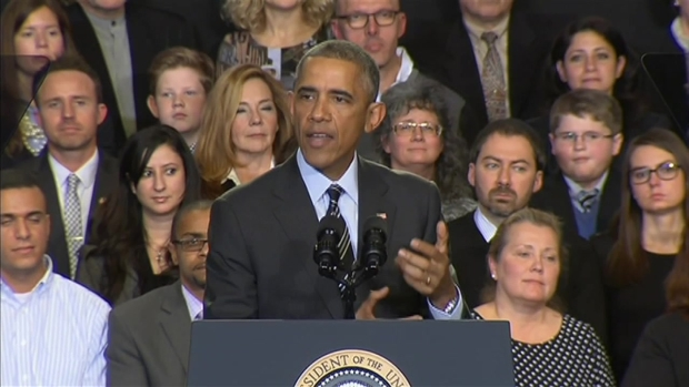 [CHI] Obama Addresses Violence in Ferguson During Chicago Speech
